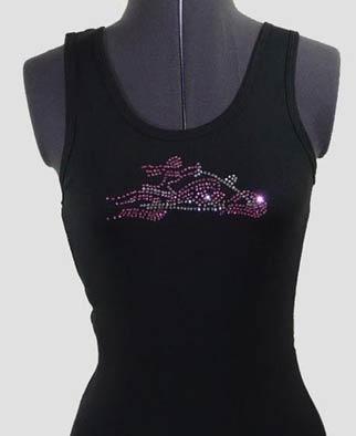 Lady Biker Rhinestone Shirt