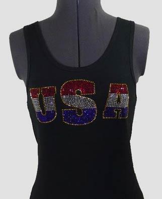 USA Rhinestone Shirt