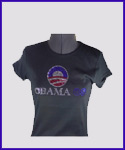 Obama Rhinestone Shirt