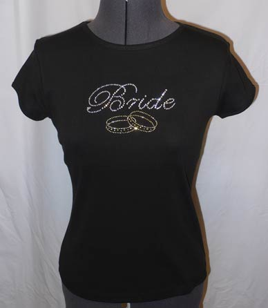 Bride Rhinestone Shirt