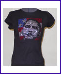 Obama Rhinestone image Shirt