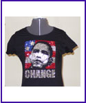 Obama Rhinestud image Shirt