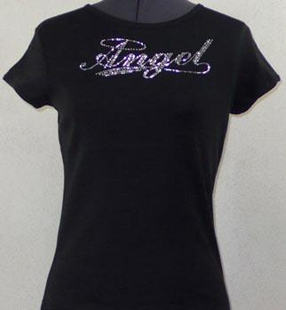 Angel Rhinestone Shirt