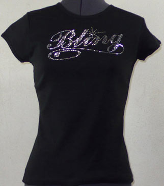 Bling Rhinestone Shirt