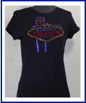 Las Vegas Rhinestone Shirt
