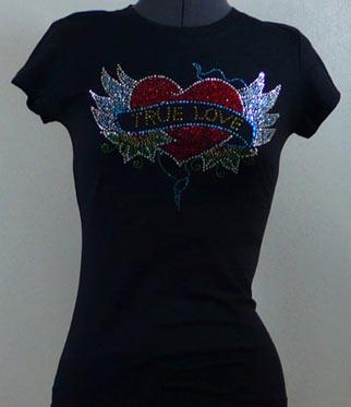 True Love Rhinestone Shirt