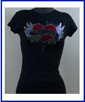 True Love Rhinestone Shirt