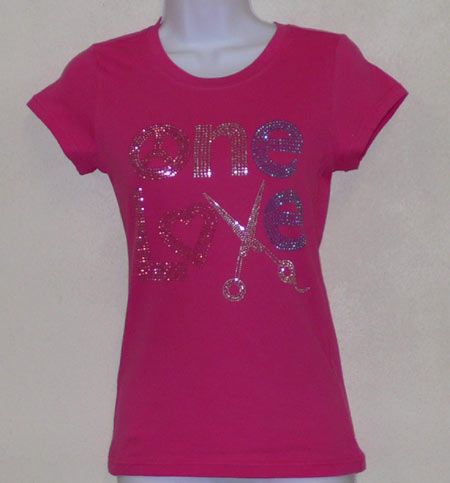 One Love Rhinestone Shirt